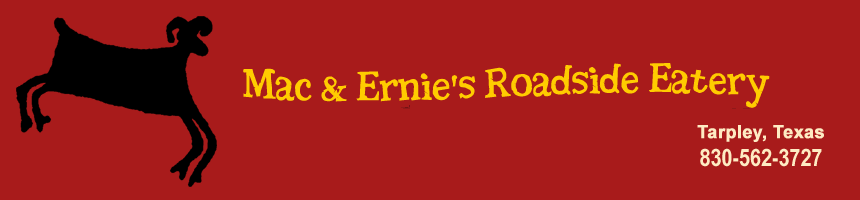 Mac and Ernie's Roadside Eatery